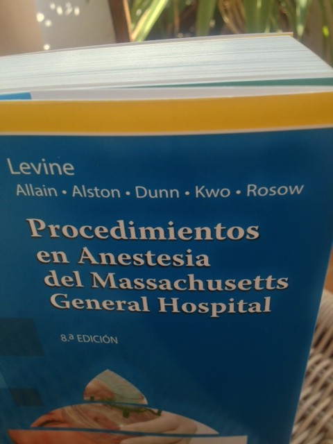 Procedimientos en Anestesia del Massachusetts General Hospital